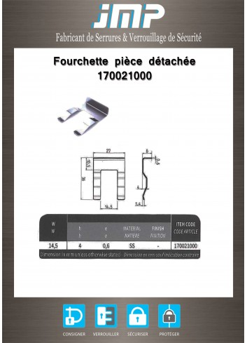 Fourchette 170021000 - Plan Technique