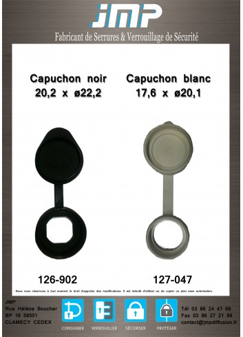 Capuchon blanc  17,6 X Ø 20,1 - Plan Technique