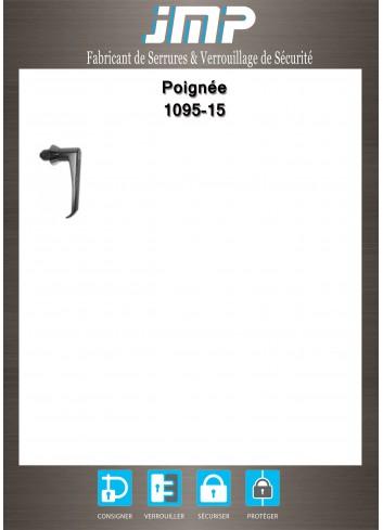 Poignée béquille 1095-15 - Plan Technique