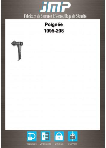 Poignée béquille 1095-205 - Plan Technique