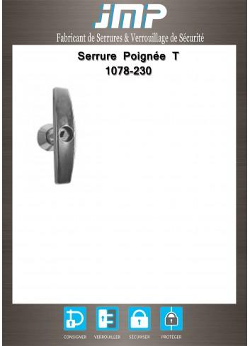 Poignée T 1078-230 - Plan Technique