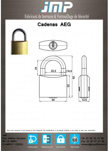 Cadenas AEG - Plan Technique