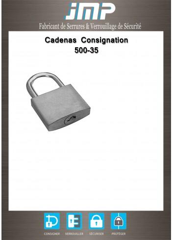 Cadenas consignation 500-35 - Plan Technique
