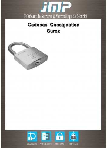 Cadenas consignation Surex - Plan Technique