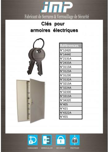 Clés 696 pour armoire électrique - Plan Technique
