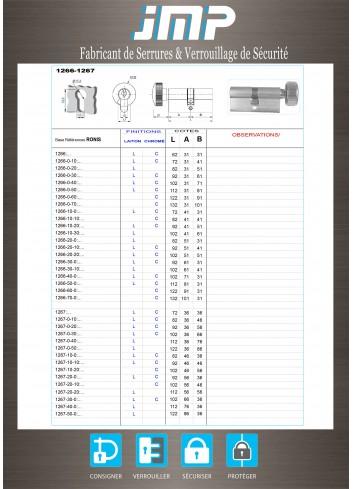 Cylindre Européen 1266-1267 - Plan Technique
