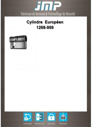 Cylindre Européen 1268-999 - Plan Technique