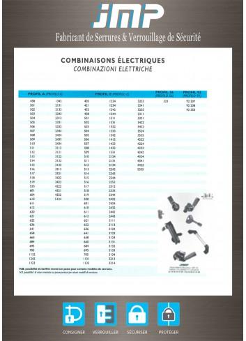 Combinaisons électriques A, E, 333 - Plan Technique