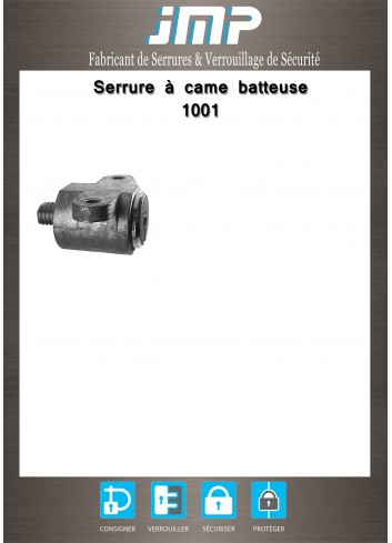 Serrure à came batteuse 1001 - Plan Technique