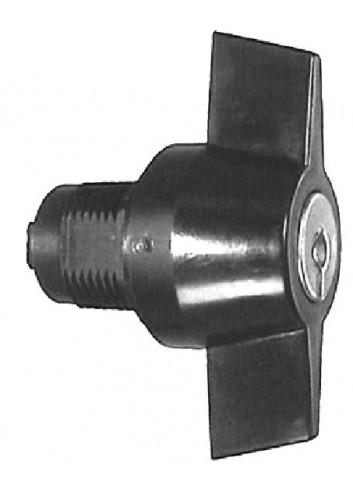 Bouton verrou 1247-999 serrure coffret électrique