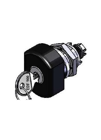 Bouton verrou BV005-008-20-EDF900 serrure coffret électrique IP 66 sur n° EDF900