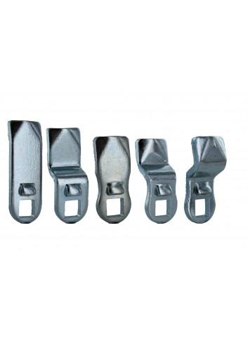 Cames 133-1xx acier avec ergot - gamme électrique