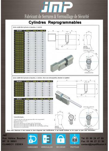 CYLINDRE DOUBLE RI1200S - Plan Technique 1