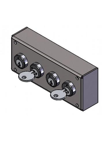 Serrure Interverouillage ELC11-11-02 consigneurs de clés