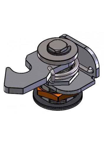 Serrure à crochet 008 Gamme Électrique IP65