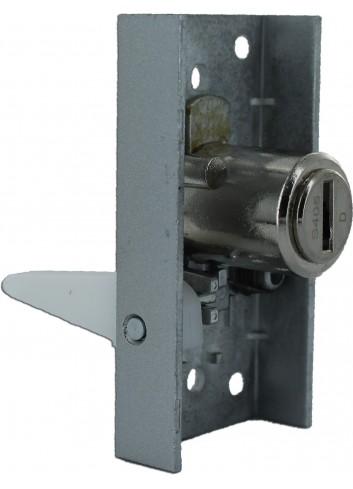 Serrure vitrine 5601 pour portes coulissantes - 1