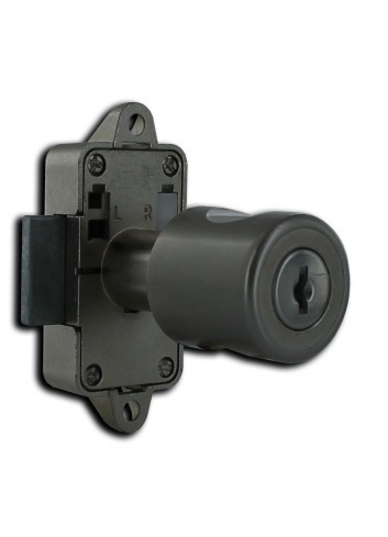Serrure encloisonnée 32800-06-1  vis avec  bouton - 1
