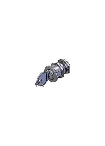 Serrure inox BXXX0022-PLR-V-INOX came batteuse fixation ecrou