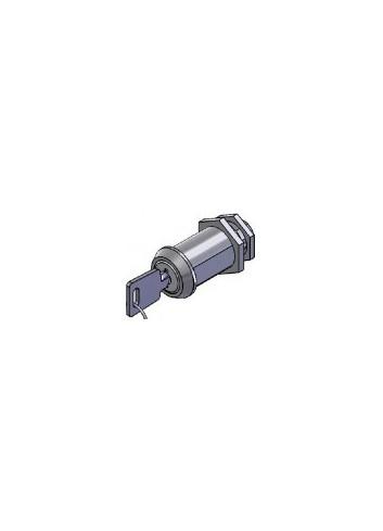 Serrure inox 1700-10-FM-INOX came batteuse fixation par ecrou