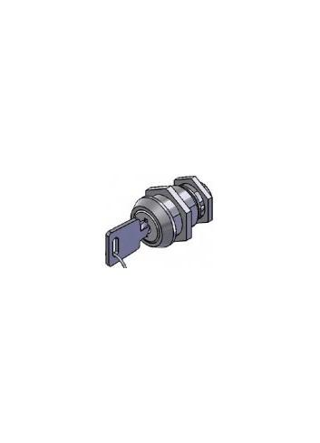Serrure inox 1700-14-FM-INOX came batteuse fixation par ecrou