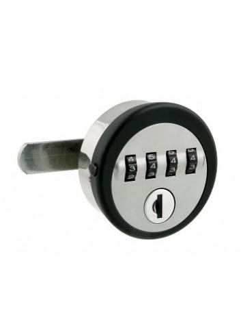 Serrure à code A199 4 molettes - clé de décodage
