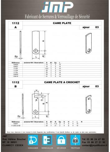 Cames 1112 - Plan Technique 1