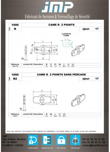Cames 1095 - Plan Technique 1
