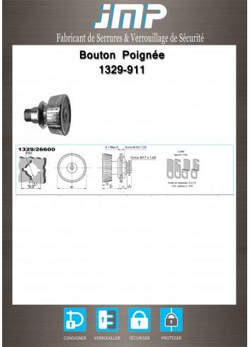 Bouton poignée agencement 1329-911 - Plan Technique