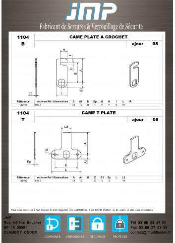 Cames 1104 - Plan Technique 2