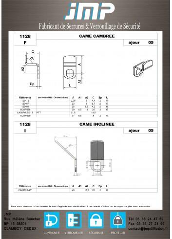 Cames 1128 - Plan Technique 2