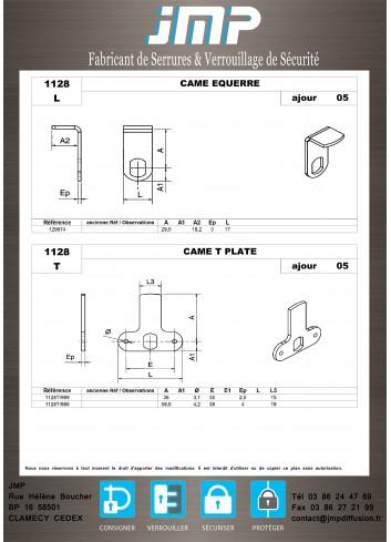 Cames 1128 - Plan Technique 3