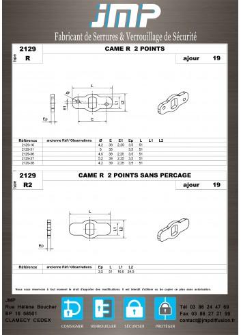 Cames 2129 - Plan Technique 2