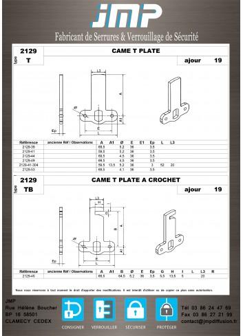 Cames 2129 - Plan Technique 3