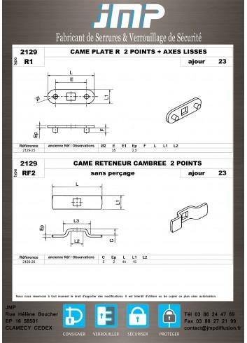 Cames 2129 - Plan Technique 5