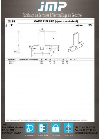 Cames 2129 - Plan Technique 6