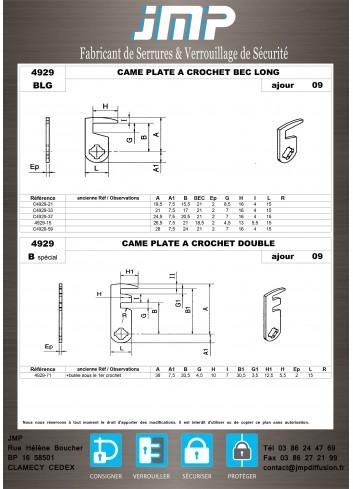 Cames 4929 - Plan Technique 4