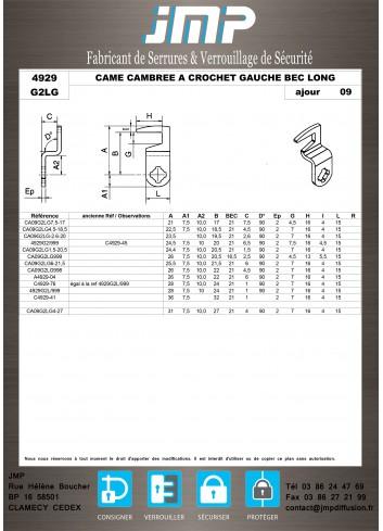 Cames 4929 - Plan Technique 14