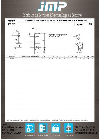 Cames 4929 - Plan Technique 11