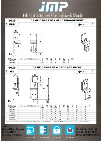 Cames 6629 - Plan Technique 4