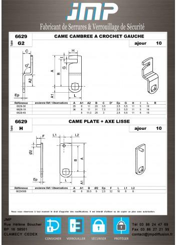 Cames 6629 - Plan Technique 5
