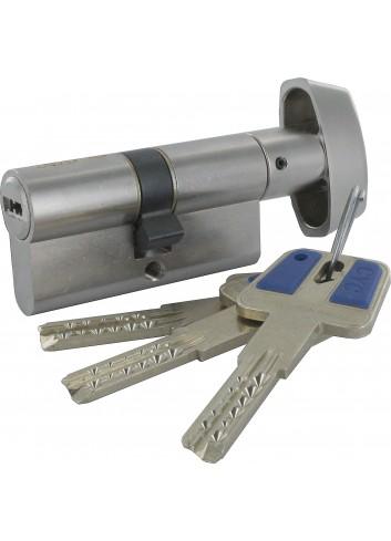 Cylindre serrure 1266-CYC bouton clé sécurisée breveté carte de propriété ClamecY Clé