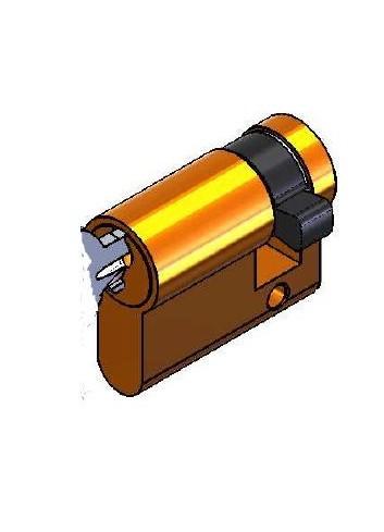 1/2 cylindre serrure 1268-99-02LP panneton à 3h