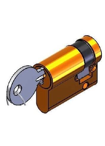 Serrure interverrouillage 1268-02LP-310-GD-1S 1/2 Cylindre européen