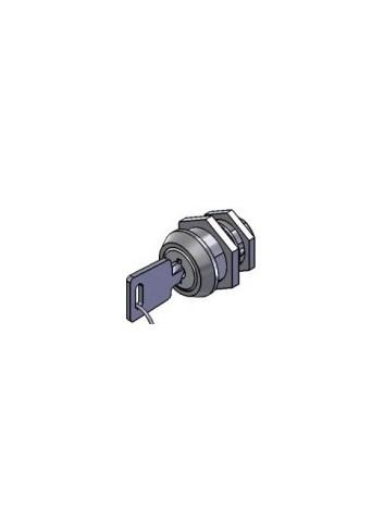 Serrure inox 1700-01-FM-INOX came batteuse fixation ecrou