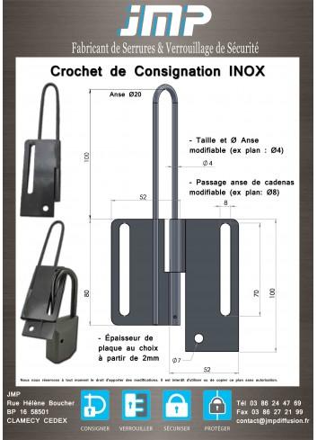Crochet de Consignation - Plan Technique