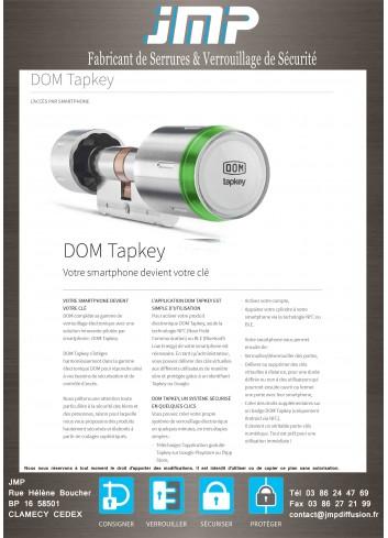 Cylindre connecté TapKey - Plan Technique 2