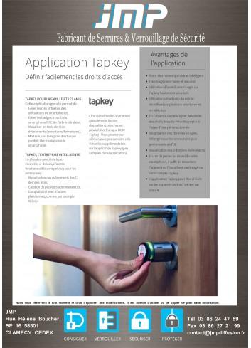 Cylindre connecté TapKey - Plan Technique 5