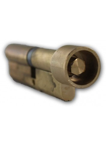 Cylindre européen CP50X60L-H10-CLE avec hexagone mâle de 10 pompier - 1